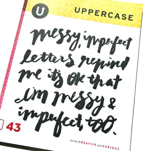 Uppercase Magazine Back Issues 42-45