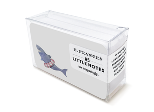 E Frances Little Notes: Sharkie