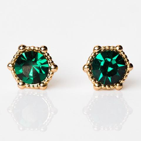 Lover's Tempo Astrid Earrings, Emerald