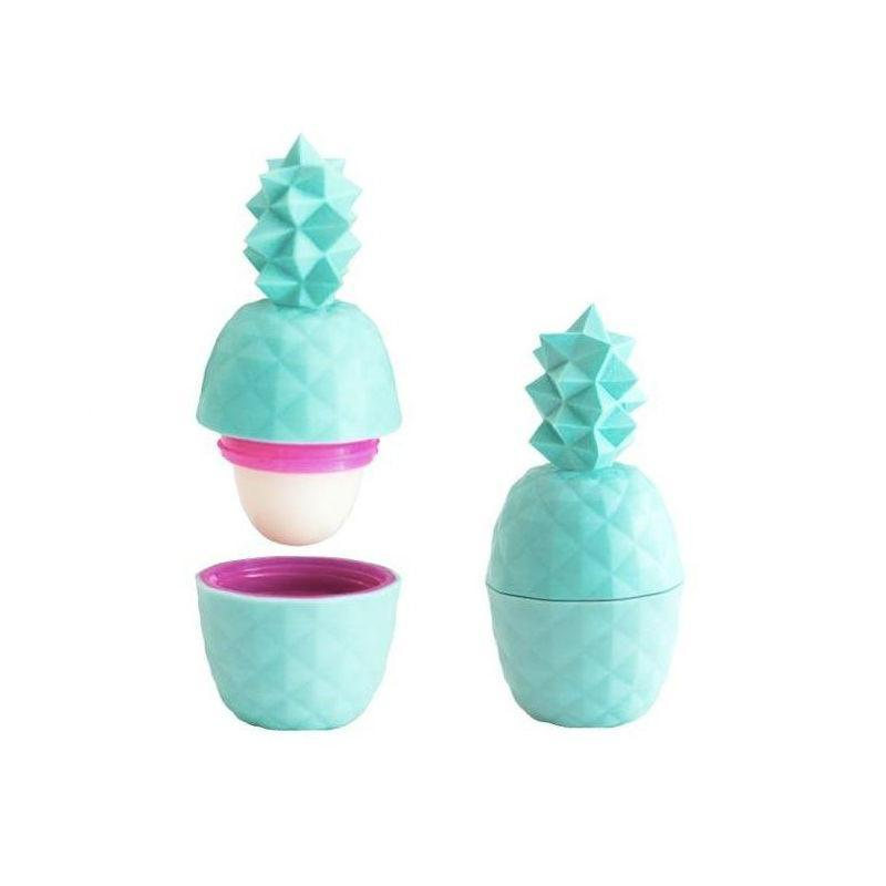 Rebels & Refinery Pineapple Lip Balm, Teal