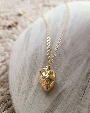 Sherry Jeffery Heart Necklace, Medium