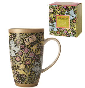 William Morris Mug, Lily Black