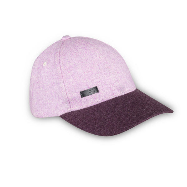 XS Unified Classic Wool Cap, Plum Heather