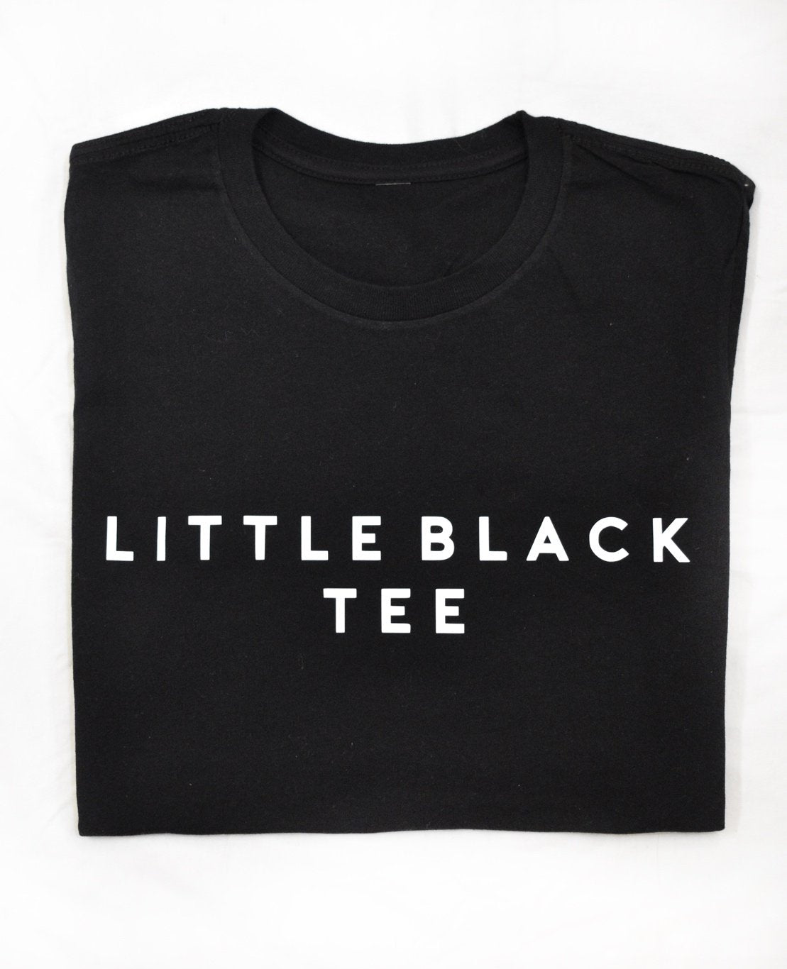 BBX Collection Little Black Tee Shirt, Women's