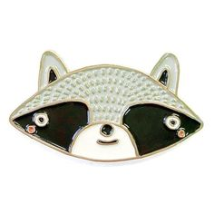 Gingiber Raccoon Enamel Pin