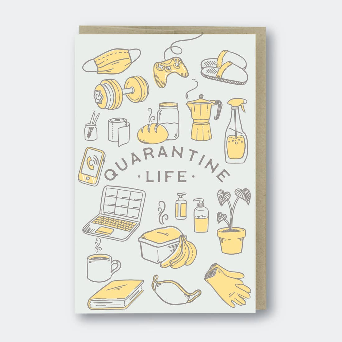 Quarantine Life Card