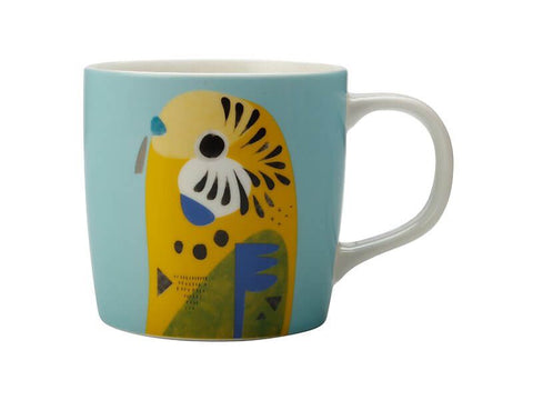Peter Cromer Collection Mug, Budgerigar