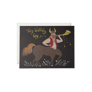Centaur Birthday Card