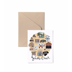Schitts Creek Map Card