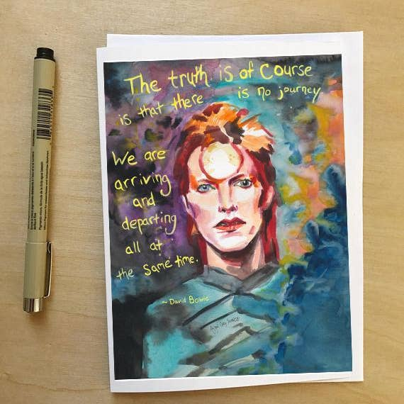Bowie Journey Card
