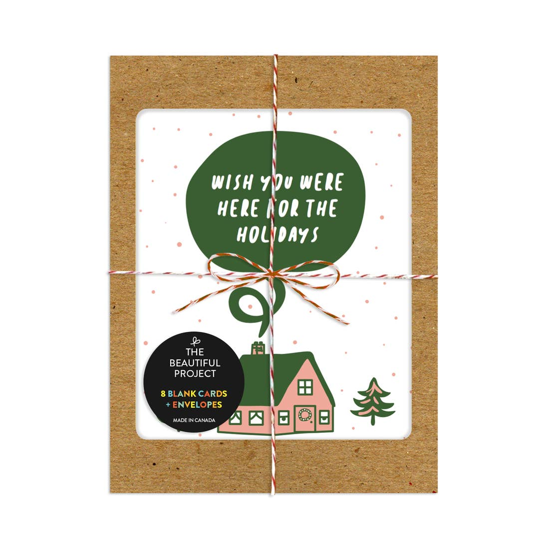 Wish You Were Here For the Holidays, Box of 8 Cards