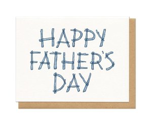 Frog & Toad Press Happy Father's day Log Card