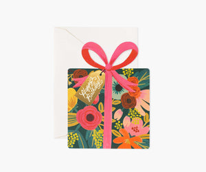 Rifle Paper Co. Happy Birthday Present Card