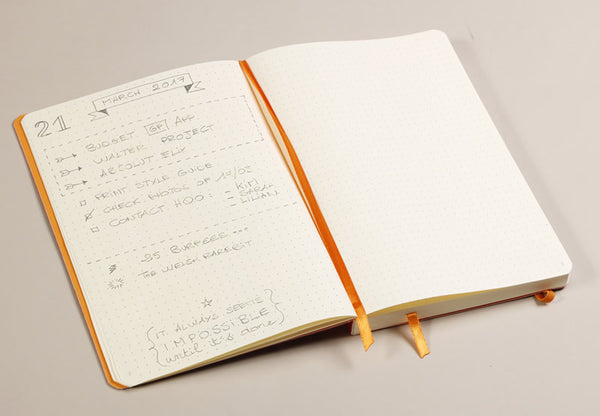 Rhodia Goalbook, Black