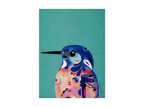 Peter Cromer Collection Tea Towel, Kingfisher