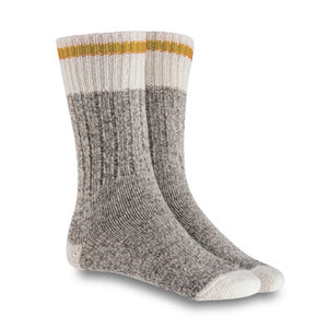 of XS Unified Wool Camp Socks, Harvest Yellow