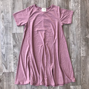 Blondie Apparel Riverbend Bamboo Dress, Heather Rose