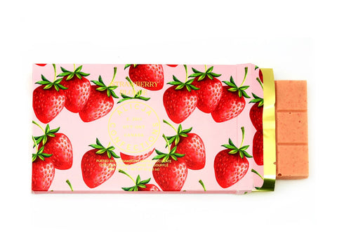 Alicja Confections Postcard White Chocolate Bar, Strawberry Blonde