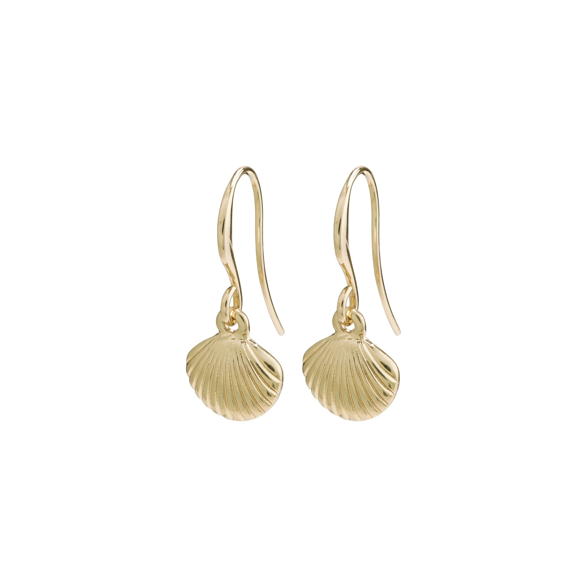 Pilgrim By the Sea Earrings, Gold