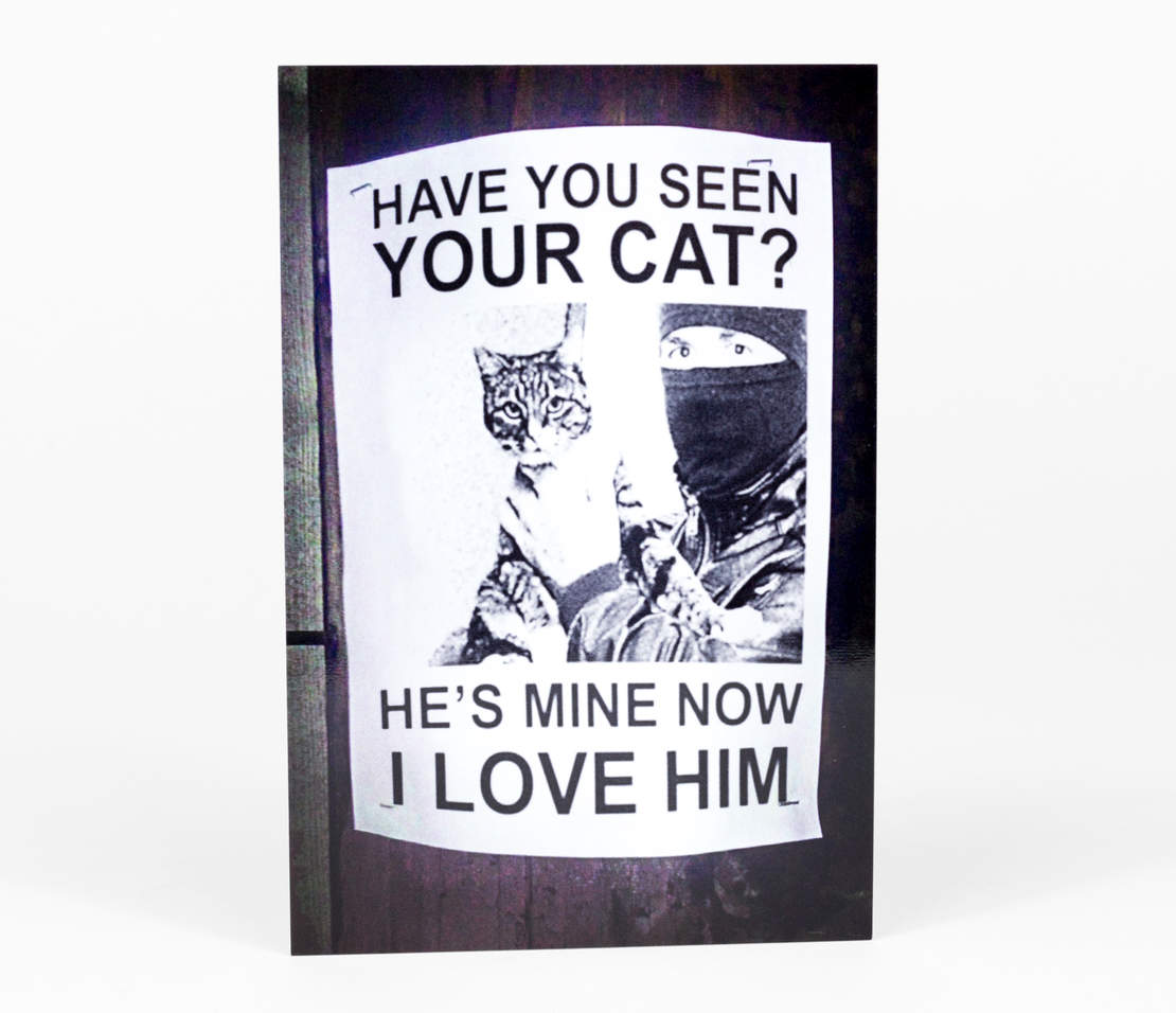 Have You Seen Your Cat? Postcard