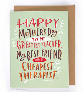 Emily McDowell Happy Mother's Day Card