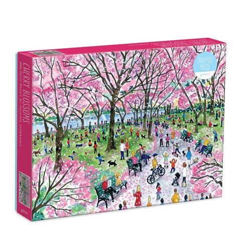 Michael Storrings' Cherry Blossom, 1000 Piece Puzzle