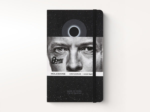 Moleskine Ruled Notebook, David Bowie, Blackstar