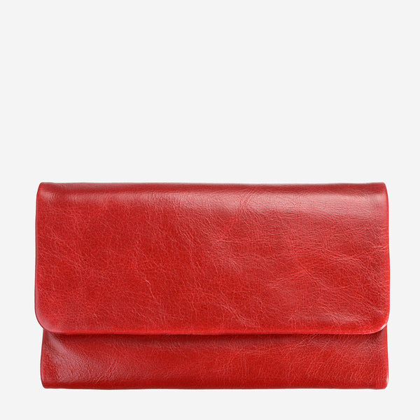 Status Anxiety Audrey Wallet, Red