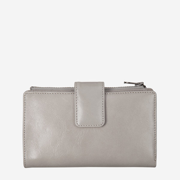 Status Anxiety Outsider Wallet, Light Grey