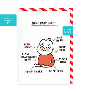 Gemma Correll New Baby Guide Card