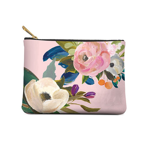 Studio Oh! Bella Flora Small Zippered Pouch