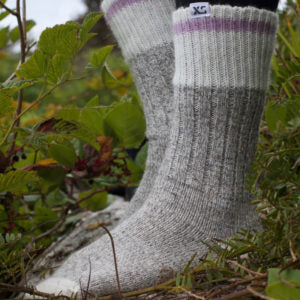 XS Unified Wool Camp Socks, Lavender