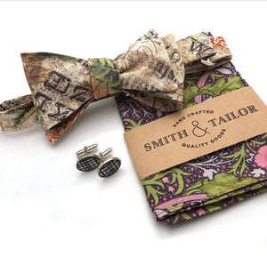 Smith & Tailor William Morris Pocket Square