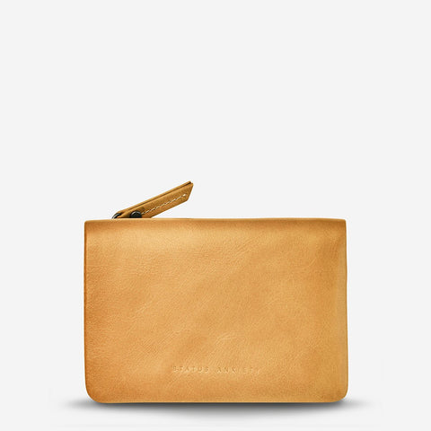 Status Anxiety Is Now Better Wallet, Tan