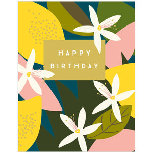 Lemon Happy Birthday Card