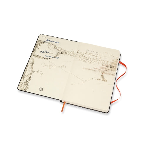 Moleskine Ruled Notebook: The Lord of the Rings, Mount Doom