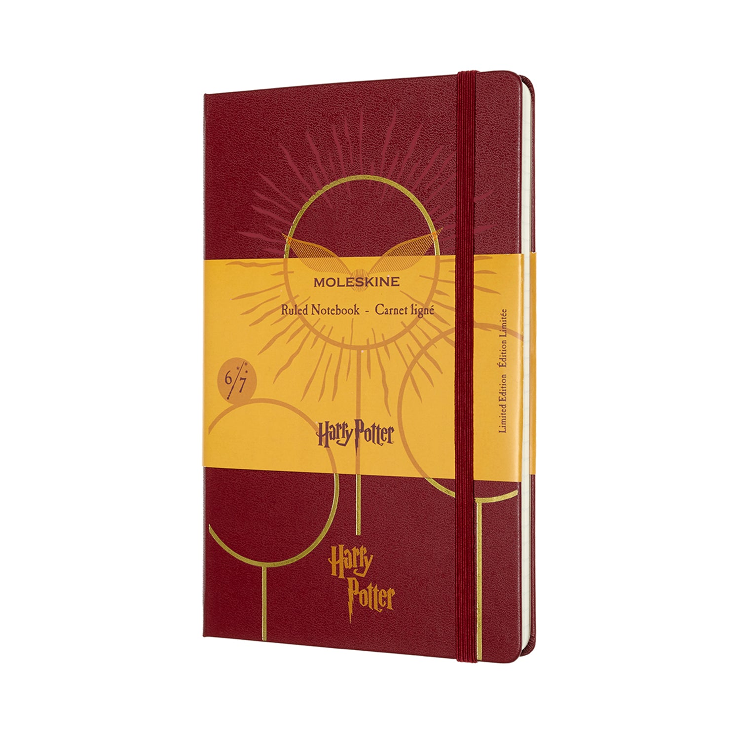 Moleskine Ruled Notebook, Harry Potter, 6 of 7, Quidditch