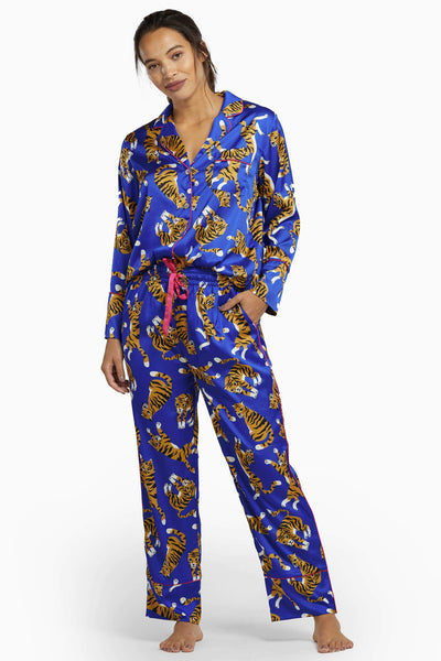 Kilo Brava Blue Tiger Pyjama Set