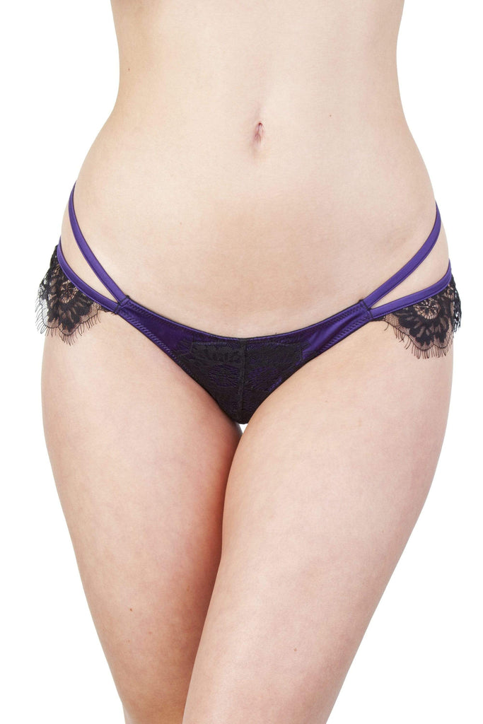 Sheba Purple Lace Brief