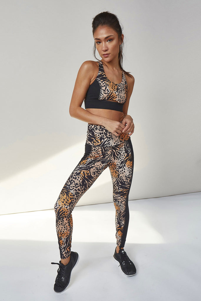 Wolf & Whistle Mixed Animal Leggings