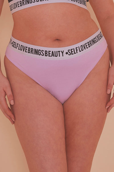 Felicity Hayward Self Love Lilac Brief Curve