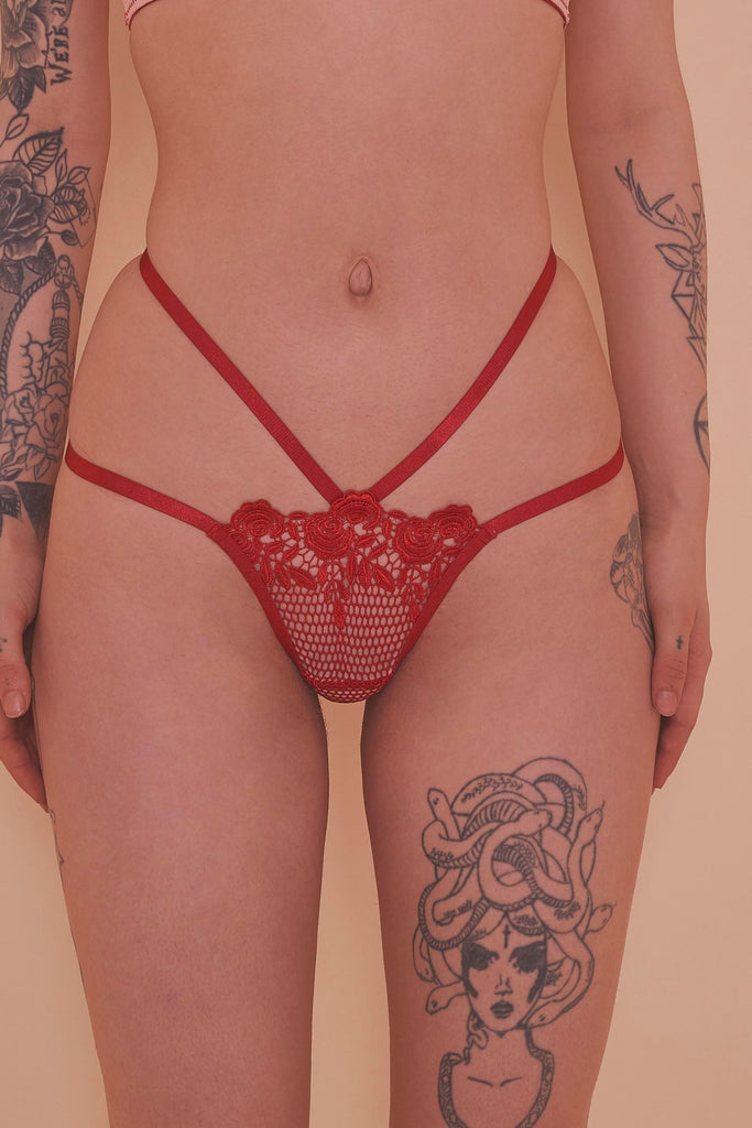 Regalia Skylar Dusty Rose Thong