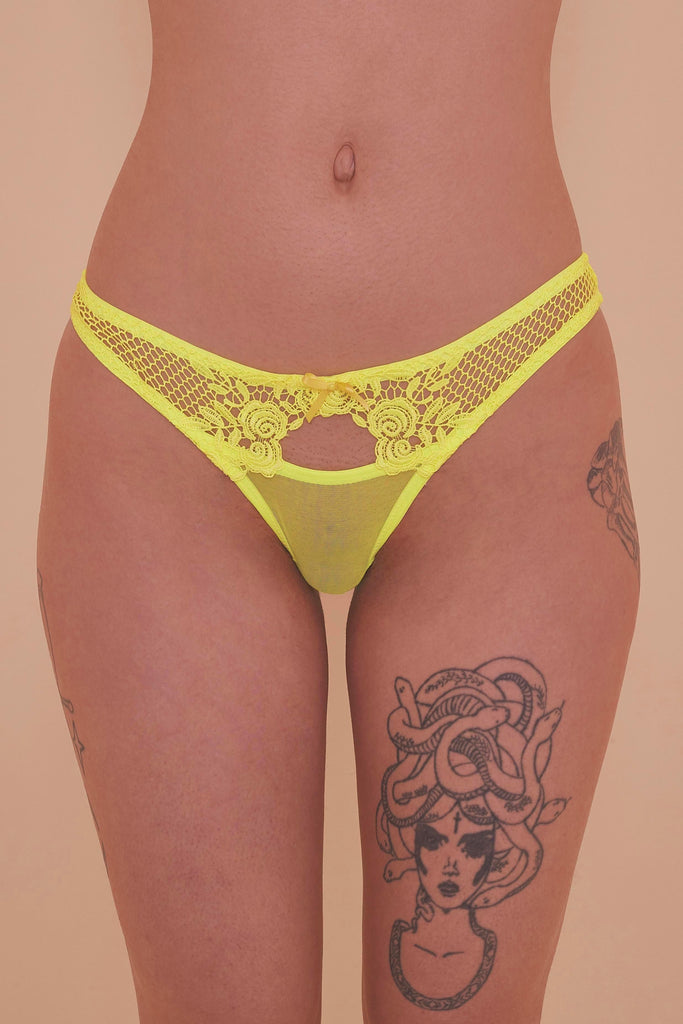 Regalia Xena Neon Rose Brief