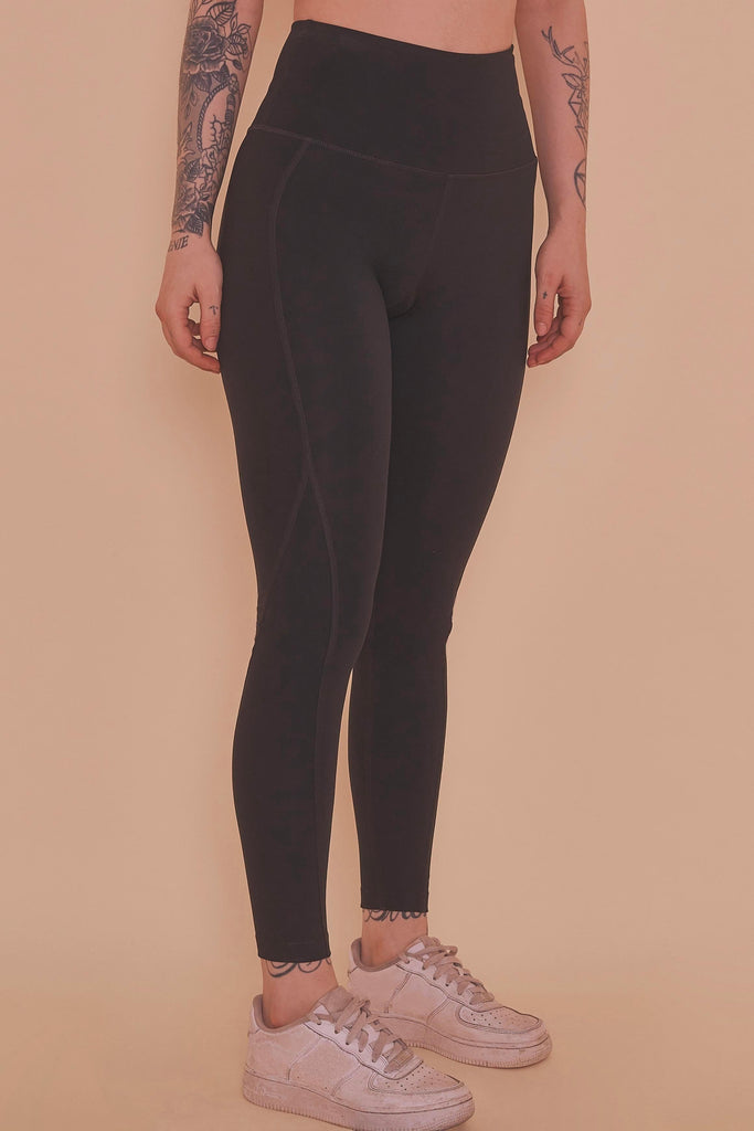 Wolf & Whistle High Waist Leggings Black
