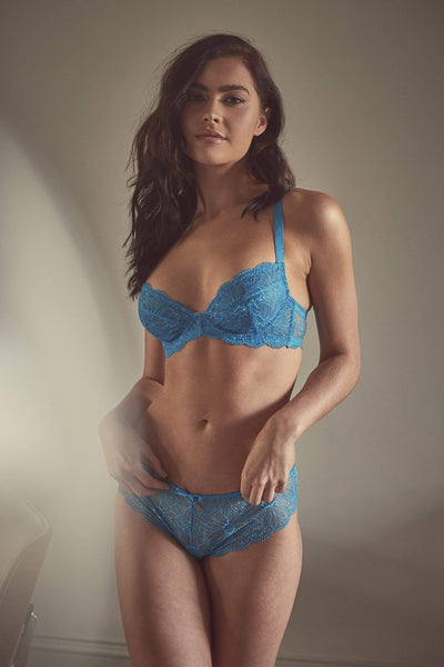 every day Blue lace bra