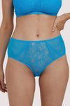Deja Day Emma Sky Blue High Waist Brief