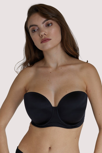 Scantilly Black Smoothie Strapless