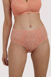 Deja Day Emma Coral High Waist Brief