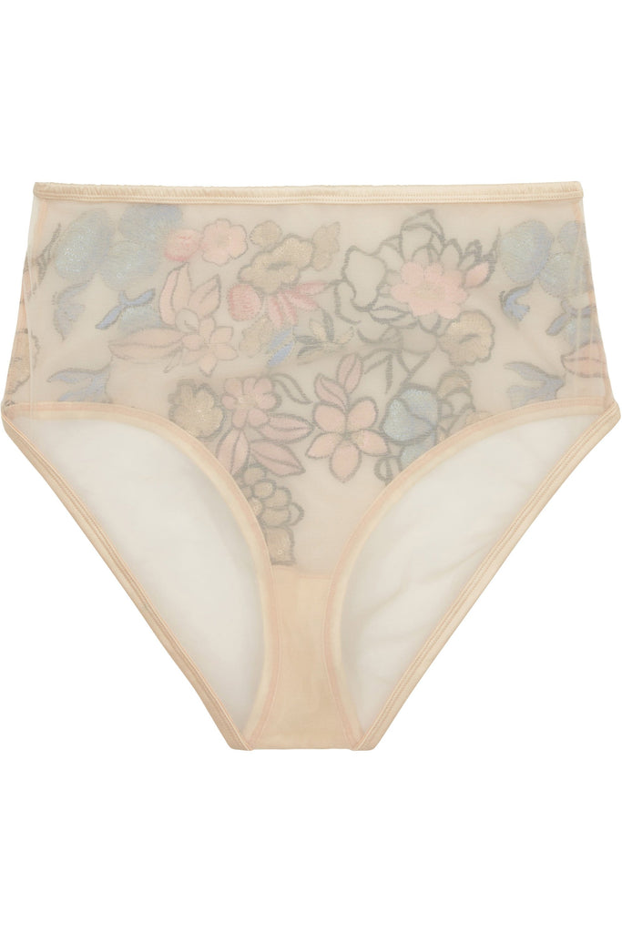 Eleanor Embroidery High Waist brief