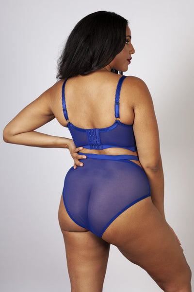 Gabi Fresh Harper HW Mesh Cut Out Brief Blue